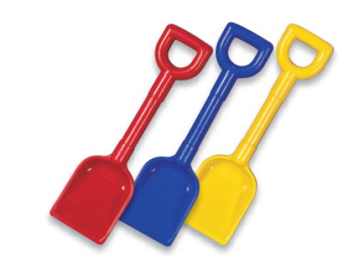"11"" Plastic Scoop Spade"