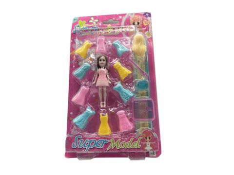 15 Pieces Dress Up Doll
