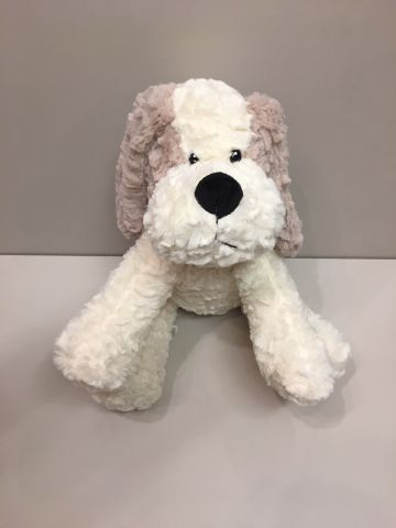 "16"" Sitting ""Crinkley"" Dog PL027"