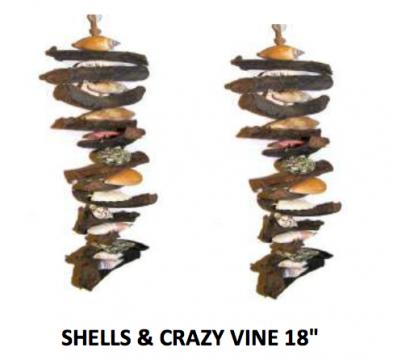 "18"" Shell Crazy Vine Mobile"