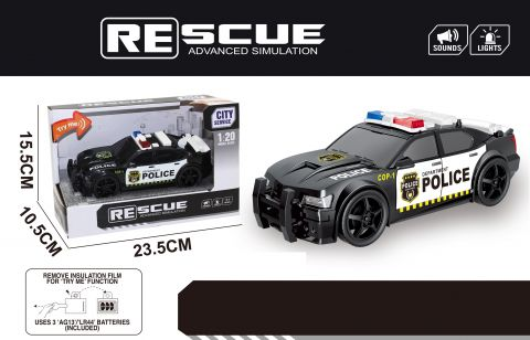 18cm Police Rescue With Light And Sound