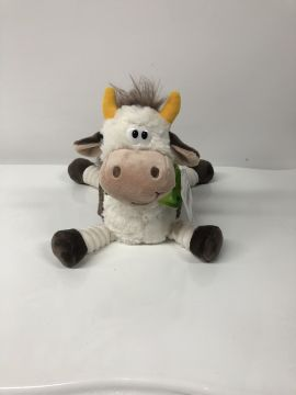 22cm Lying White Cow