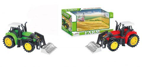 25cm Boxed Tractor & Attachment 2 Astd