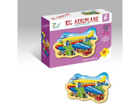 30 Piece Aeroplane Puzzle
