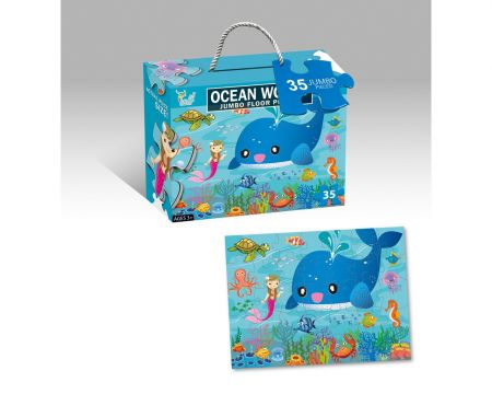 35 Piece Sealife Puzzle