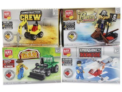 4 Assorted Brick Set 26-2849