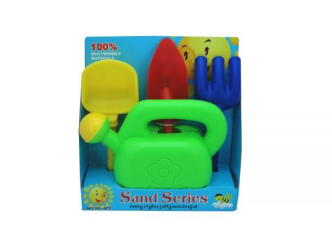 4 Piece Beach/Gardening Toy Set