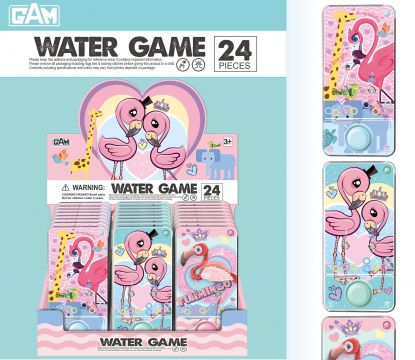 6 Astd Flamingo Watergame WG002F
