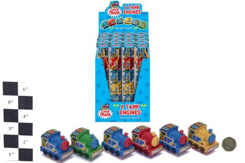 6 piece Pullback Trains in Tube