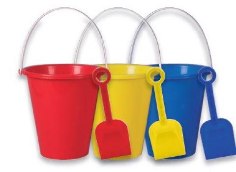 "6"" Small Bucket And Spade Set"