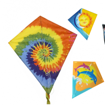 60cm X 70cm Nylon Diamond Kite KT001
