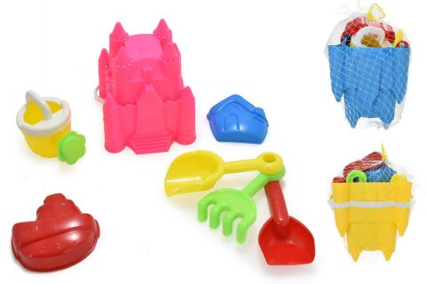 5 pce Princess Castle Bucket Set BU9172