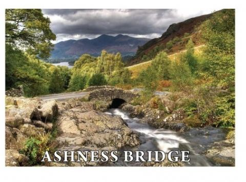 Ashness Bridge Metal Magnet LAM731
