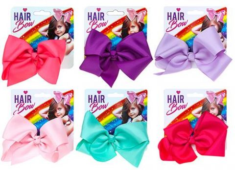 Assorted Coloured Small Hair Bows