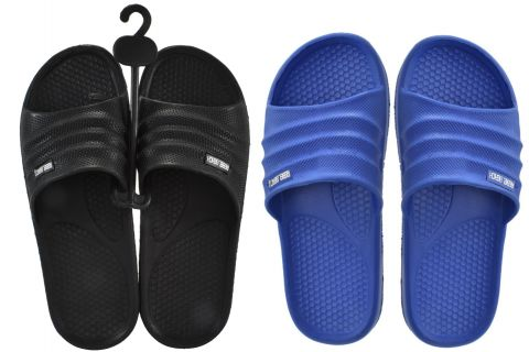 Beach Sliders Adult Size 10, 2 Asst Colours