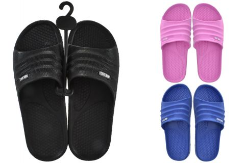 Beach Sliders Adult Size 7, 3 Asst Colours