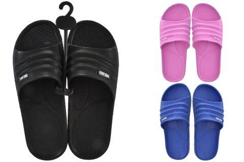 Beach Sliders Junior Size 5 (Zero Vat) - 3 Asst Colours