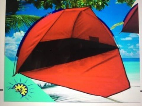 Beach Tent (UV30+) In Carry Case 22 x 115 x 130cm