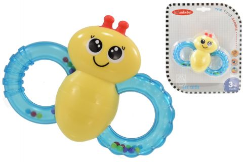 Bee Rattle 20 x 16 x 3cm  3 months+ TY2433