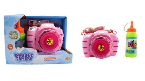 Bubble Camera - 2 assorted colours Blue and Pink  GT004