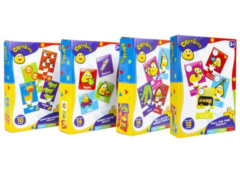 CBeebies 4 Assorted My First Puzzle Box  35-0090/19