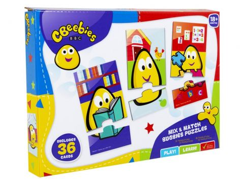 CBeebies Mix & Match Bugbies