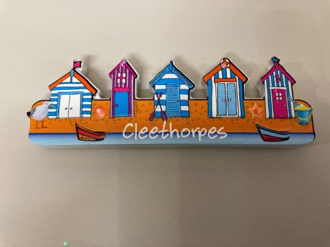Cleethorpes Row Of Beach Huts Magnet