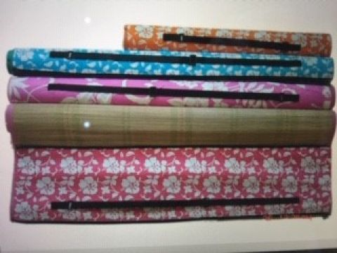 Deluxe Beach Mat With Carry Handle 180 x 60cm