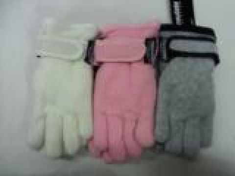 GIRLS THINSULATE FLEECE GLOVE