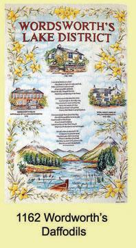Wordsworths Daffodils Tea Towel