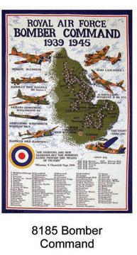 Bomber Command Tea Towel