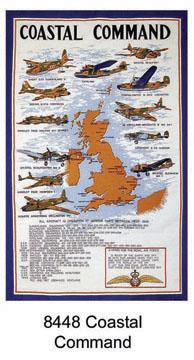 Coastal Command Tea Towel