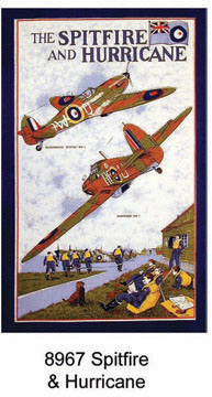 Spitfire & Hurricane Tea Towel