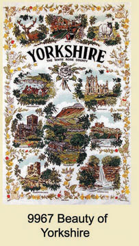 Yorkshire Beauty Of Tea Towel