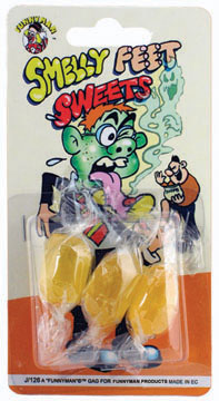 Smelly Feet Sweets