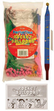 Party Time Rocket Ballons