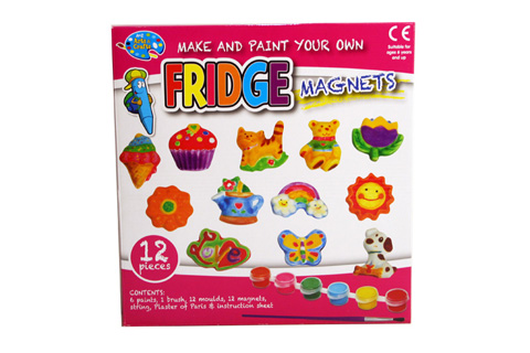Mould & Paint 12pcs Fridge Magnet Set 50 x 290 x 300mm