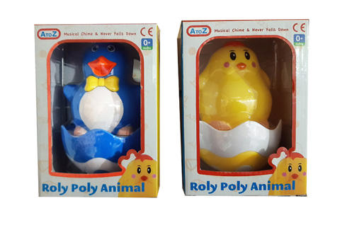 Animal Roly Poly 110 x 130 x 190mm
