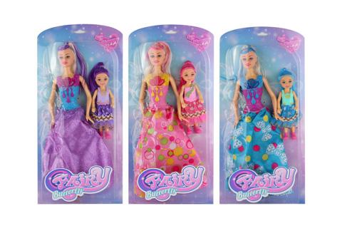 "11"" & 6"" Doll set"