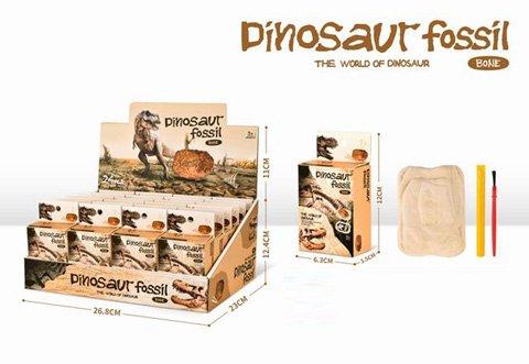 Dino Fossil Excavation 63 x 120 x 35mm