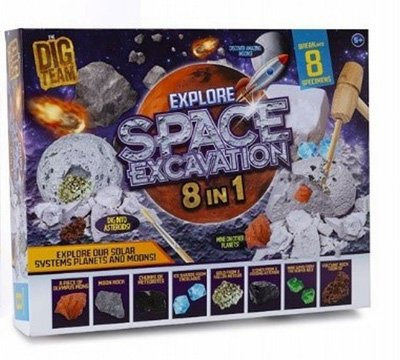 8 IN 1 Explore Space Excavation Kit 60 x 350 x 280mm