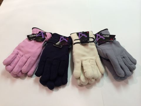 LADIES FLEECE THINSULATE GLOVE