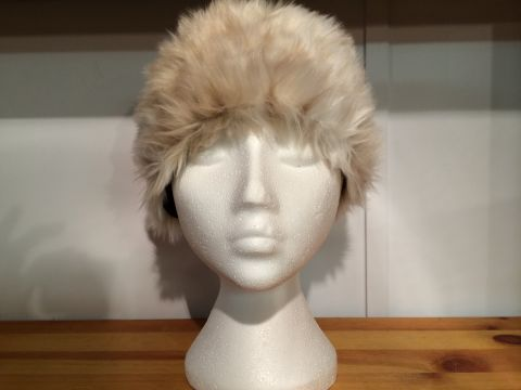 LADIES FUR HAT - 2 COLOURS