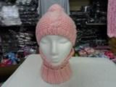 LADIES HAT AND NECKWARMER