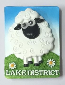 Lake District W/Eye Sheep Magnet