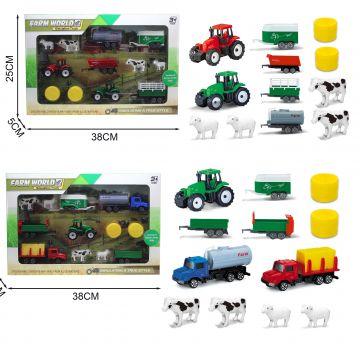 Large Farm Play Set 2 Astd