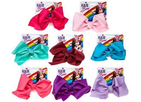 Larger Coloured Hair Bows
