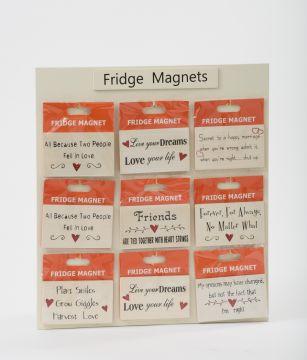 Love Wood Magnets