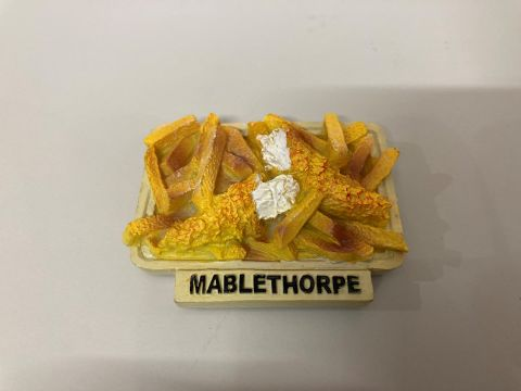 Mablethorpe Fish & Chips Resin Magnet