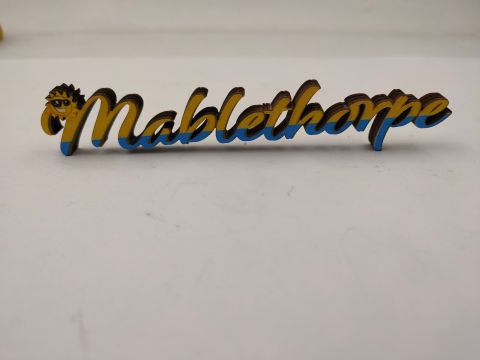 Mablethorpe MDF Cut Out Magnet